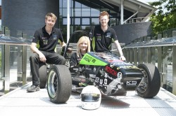 Polo shirts printed for University of Warwick race team