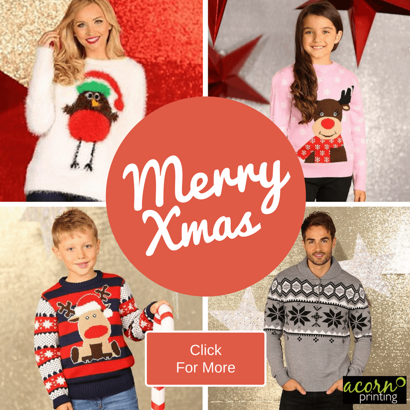 christmas jumpers and sweatshirts to buy online