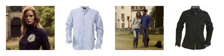 Personalised corporate clothing from James Harvest